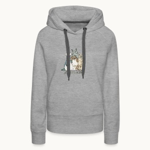 CATS - SENTIENT BEINGS - Carolyn Sandstrom - Women's Premium Hoodie