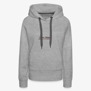 Underlined logo - Women's Premium Hoodie