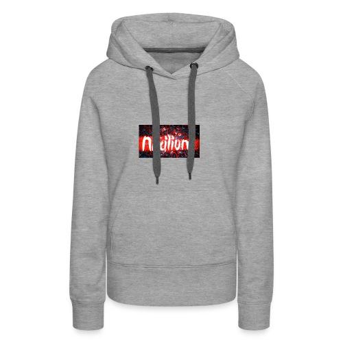 Official Nixilium Logo Shirts - Women's Premium Hoodie