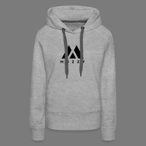 MUZZY Offical Logo Black - Women's Premium Hoodie