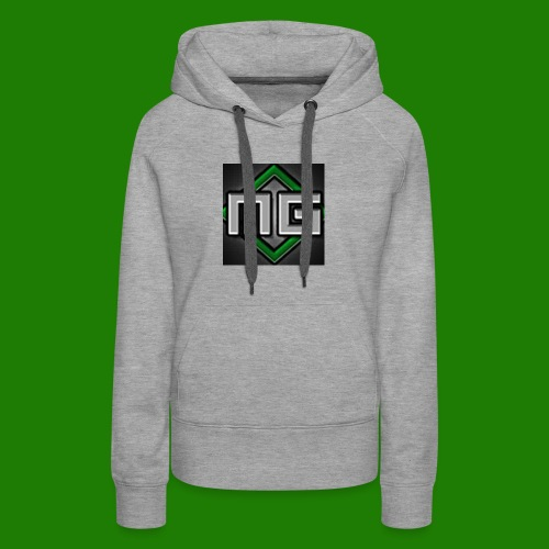 MrGreenGaming Logo Phone Cases - Women's Premium Hoodie