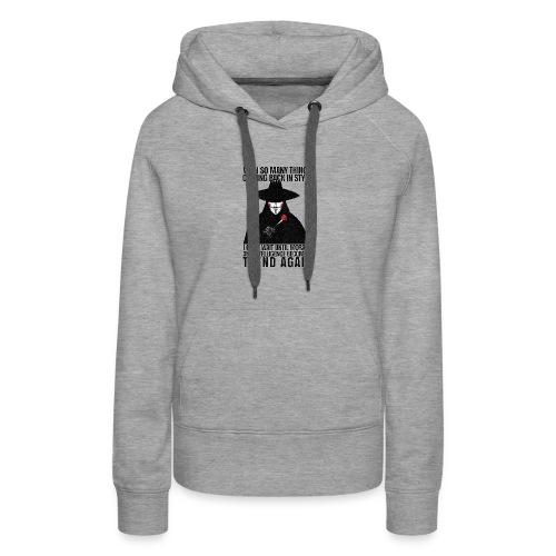 VENDETTA - Women's Premium Hoodie