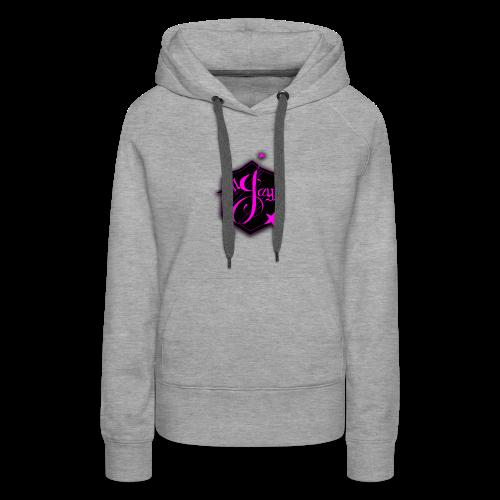 GilJayy Badge (Pink) - Women's Premium Hoodie