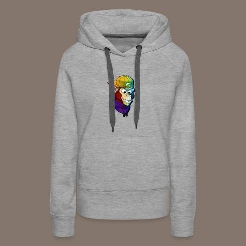 Stijmunkey Logo - Women's Premium Hoodie