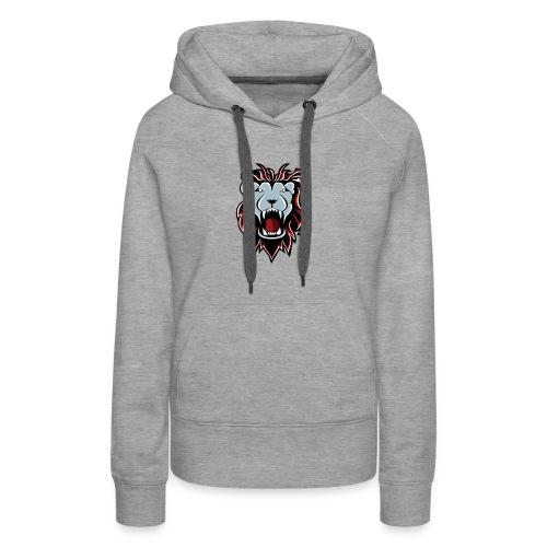 Lion Logo - Women's Premium Hoodie