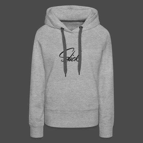 Slick Logo - Women's Premium Hoodie