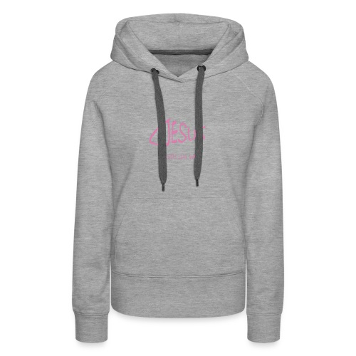 Jesus T-shirt - Women's Premium Hoodie