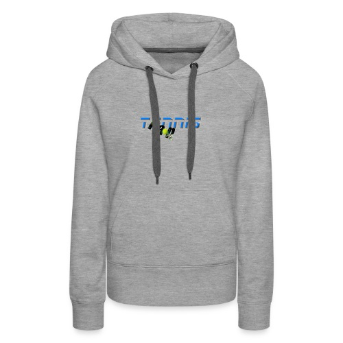 Tennis Fan - Women's Premium Hoodie