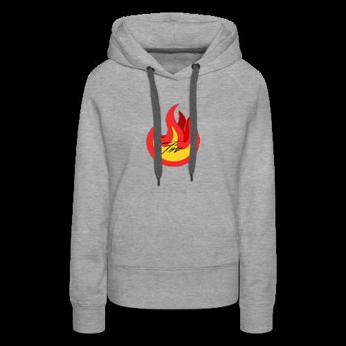 FireBrandV1 - Women's Premium Hoodie