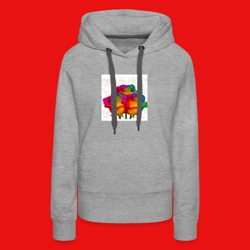 Rainbow Roses - Women's Premium Hoodie