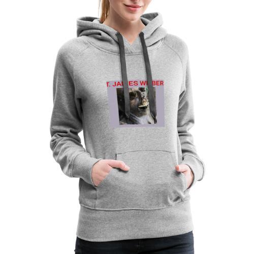 T. James Wilber corpse image - Women's Premium Hoodie
