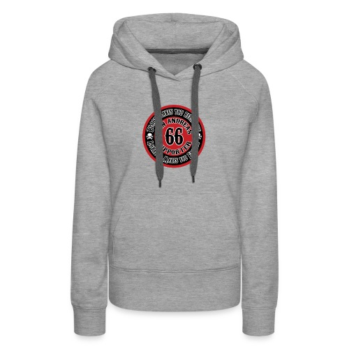 Supporter Patch 1 - Women's Premium Hoodie