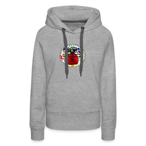 Letx Get Paid Judy Clothing - Women's Premium Hoodie