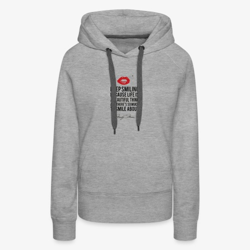 Marilyn Monroe Quote - Women's Premium Hoodie