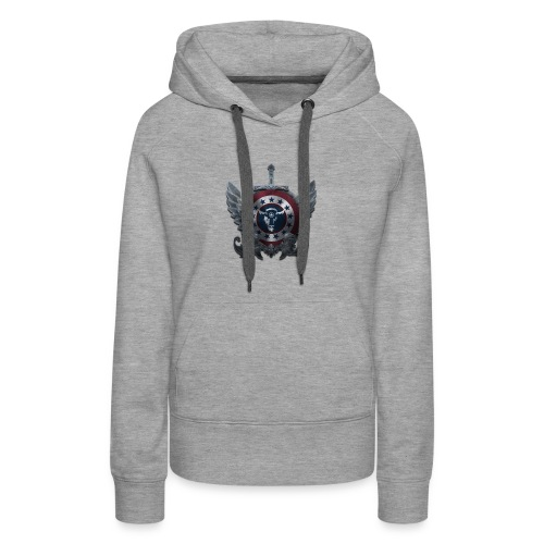Guardians of America - Medium Logo - Women's Premium Hoodie