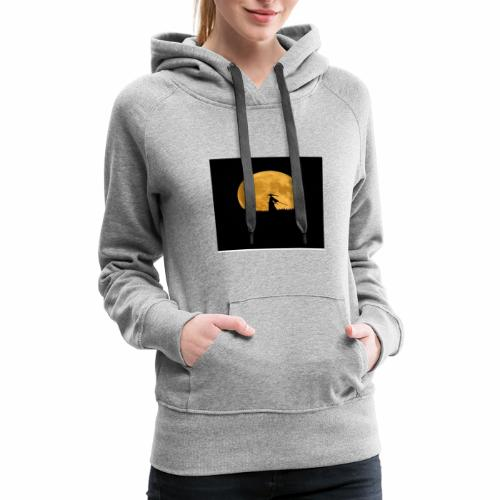 Midnight warrior - Women's Premium Hoodie