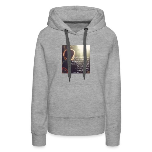 perfection-imperfections - Women's Premium Hoodie