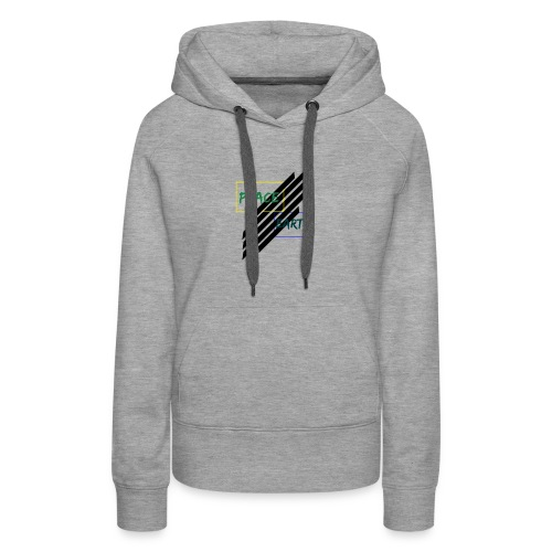 Peace and earth - Women's Premium Hoodie