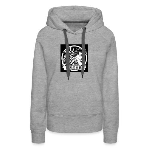 Black Logo Design - Women's Premium Hoodie
