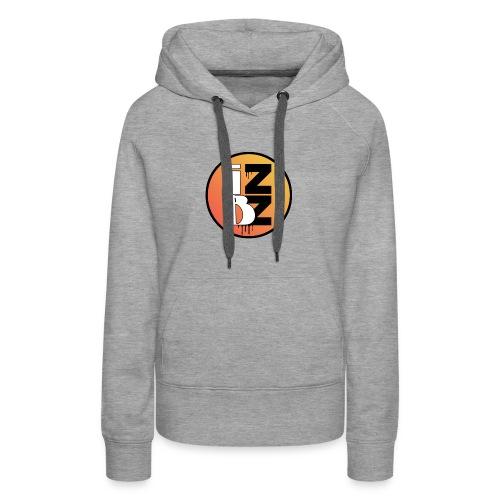 IZBZ Circle Logo - Women's Premium Hoodie