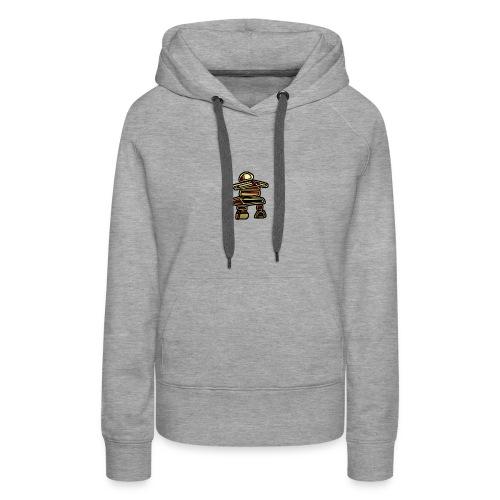 Inuksuk Totem Figure in Gold - Women's Premium Hoodie
