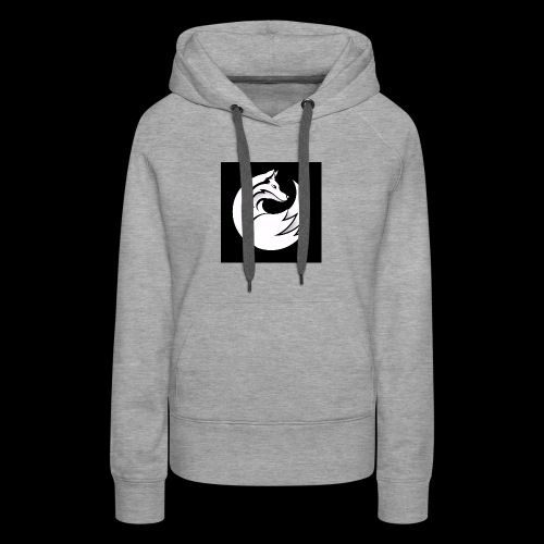 Confident wolf merch - Women's Premium Hoodie