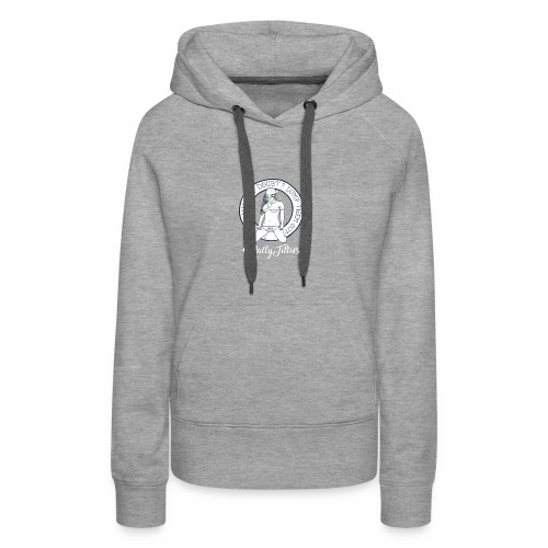 Rally Titties White - Women's Premium Hoodie