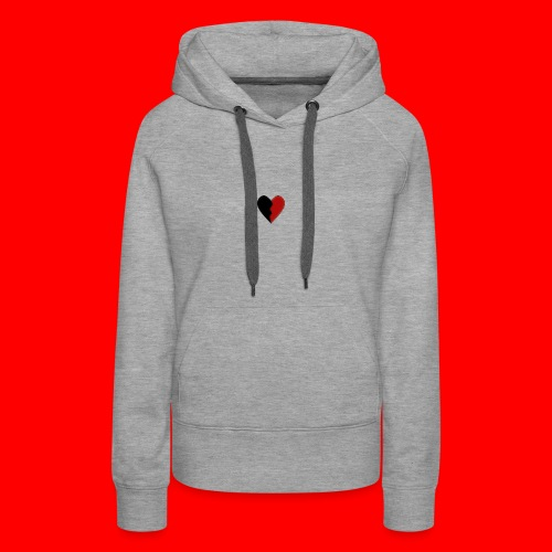 lil hearts (2lit clothing) - Women's Premium Hoodie
