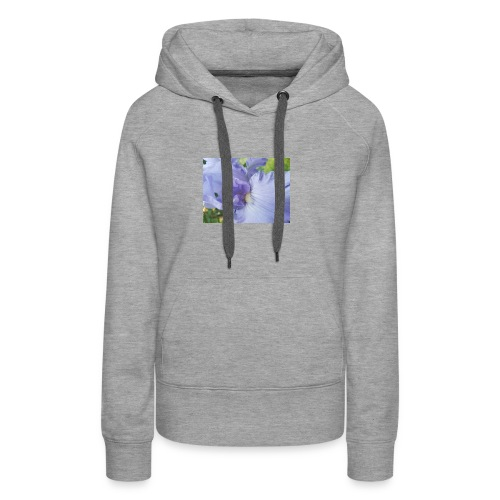 Purple Iris Design - Women's Premium Hoodie