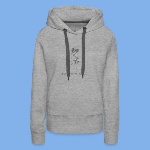 Vintage Fly (Keep Talkin' Shit) - Women's Premium Hoodie