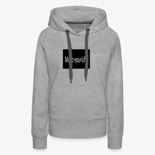 Music+you=Life - Women's Premium Hoodie