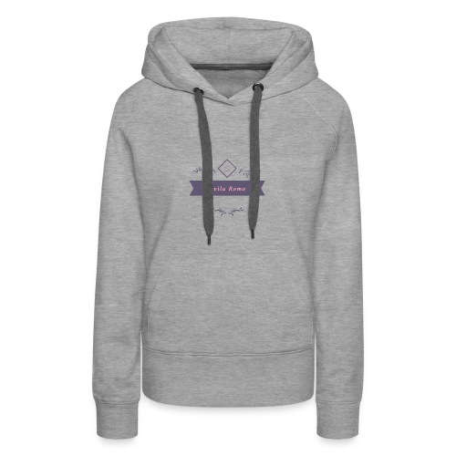 logo transparent - Women's Premium Hoodie