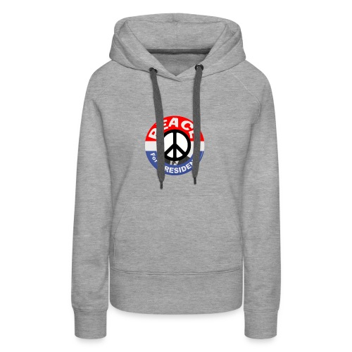 Peace For President - Women's Premium Hoodie
