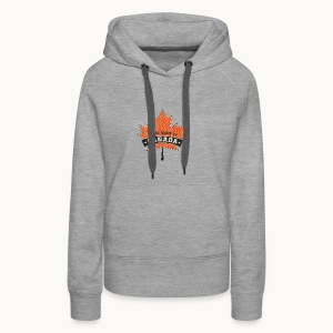 I WAS MADE IN CANADA -Linen -Carolyn Sandstrom - Women's Premium Hoodie
