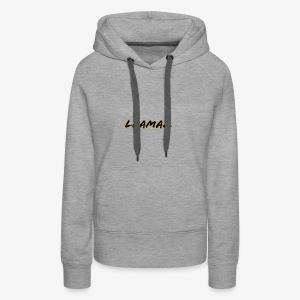 Llamaz YT Channel Merch - Women's Premium Hoodie