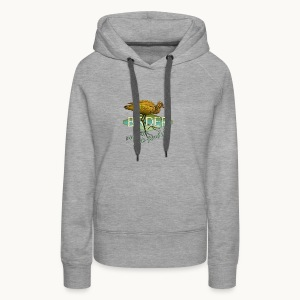 BIRDER - White-faced ibis - Carolyn Sandstrom - Women's Premium Hoodie