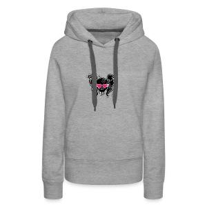 girlskull - Women's Premium Hoodie