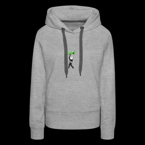 Cool Mine Craft Design - Women's Premium Hoodie