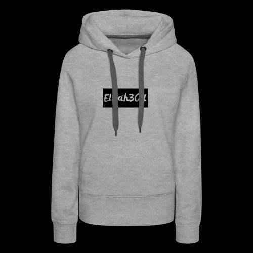 Elijah301BlackLogo - Women's Premium Hoodie