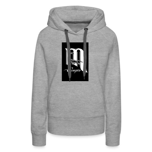 LEVEL ONE SCORPIO ART - Women's Premium Hoodie