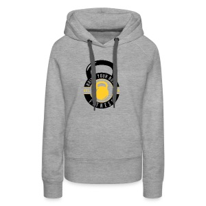 Bring your Body white Background - Women's Premium Hoodie