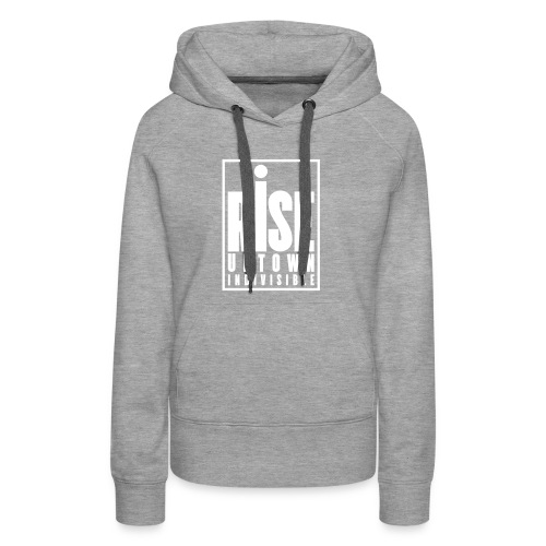 Rise Uptown Indivisible logo gear - Women's Premium Hoodie