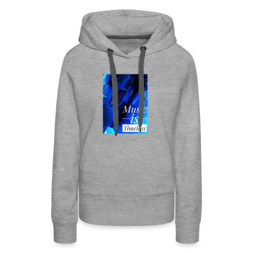 BANKHEAD VIOLINIST Music Is Timeless Original - Women's Premium Hoodie