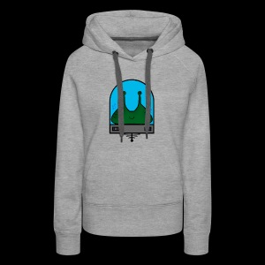 Stay Weird Alien - Women's Premium Hoodie