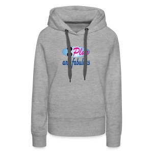 90plus and fabulous - Women's Premium Hoodie