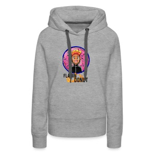 FLAMIN DONUT MERCH - Women's Premium Hoodie