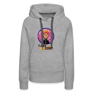 FLAMIN DONUT MERCH - Women's Premium Hoodie