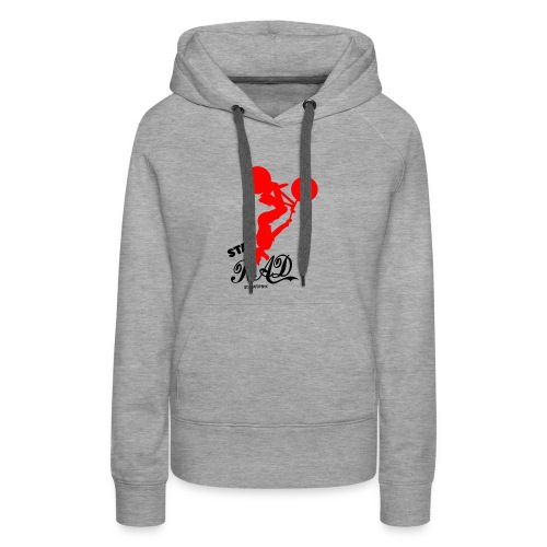 Stay Rad Black - Women's Premium Hoodie