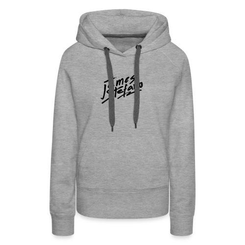James Stefano 2017 Merchandise Black Logo - Women's Premium Hoodie