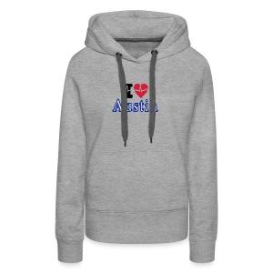 Love Austin Heart - Women's Premium Hoodie